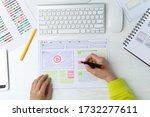 web site developer creates a...