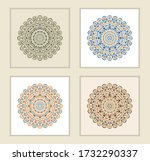 mandala ornament. arabic ... | Shutterstock .eps vector #1732290337