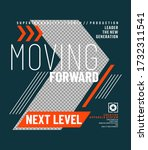 moving forward  modern and ... | Shutterstock .eps vector #1732311541