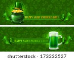 st.patrick's day background... | Shutterstock .eps vector #173232527