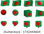 various designs of the...   Shutterstock . vector #1732444604