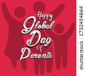happy global parents day... | Shutterstock .eps vector #1732454864