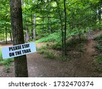 Public Notice Sign Nailed To...