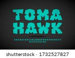 indian tribes style font design ... | Shutterstock .eps vector #1732527827