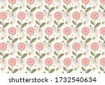 floral illustration designs...   Shutterstock .eps vector #1732540634