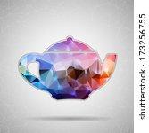 abstract creative concept... | Shutterstock .eps vector #173256755