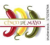 Cinco De Mayo Three Jalapenos...