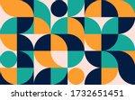 geometric minimalistic color...   Shutterstock .eps vector #1732651451