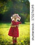 A Cute Little Happy Girl...
