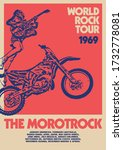World Rock Tour Gig Poster...
