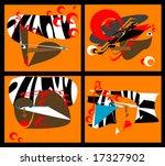 background africa | Shutterstock .eps vector #17327902