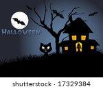 illustration of halloween... | Shutterstock .eps vector #17329384