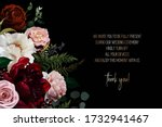 elegant dark frame  arranged... | Shutterstock .eps vector #1732941467