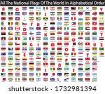 world flags in alphabetical... | Shutterstock .eps vector #1732981394