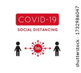 covid 19  coronavirus vector... | Shutterstock .eps vector #1732986047