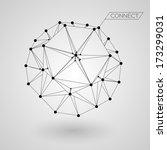 abstract satellite   eps10... | Shutterstock .eps vector #173299031