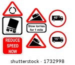 Truck Reduce Speed Now And Slow ...