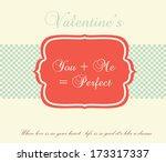 valentine's day | Shutterstock .eps vector #173317337