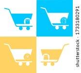simple set of shopping cart ...