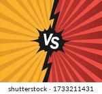 versus  opponent  opposition... | Shutterstock .eps vector #1733211431
