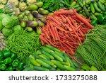 Fresh Green Vegetables For Sal...