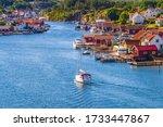 Sailing Boat In Hamburgsund An...