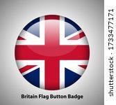 united kingdom national flag... | Shutterstock .eps vector #1733477171