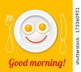 good morning poster | Shutterstock .eps vector #173360951