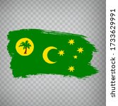 flag of coconut islands from...
