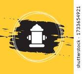 Fireplug Icon Vector...