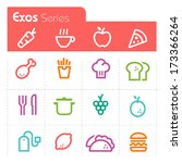 food icons exos series | Shutterstock .eps vector #173366264
