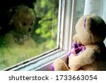 A Teddy Bear Plush Toy Looks...
