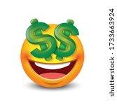 Dollar Eyes Emoticon  Emoji  ...