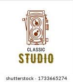 photography logos  photography...   Shutterstock .eps vector #1733665274