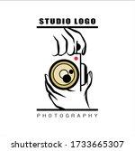 photography logos  photography...   Shutterstock .eps vector #1733665307