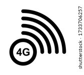 4g vector symbol.  new mobile...