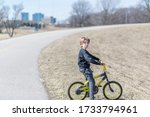 portrait of a child on a... | Shutterstock . vector #1733794961