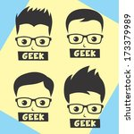 geek and nerd man avatar... | Shutterstock .eps vector #173379989