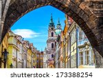 View Of Colorful Old Town In...
