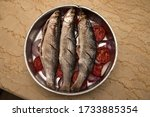 muller fresh raw fish with...