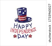 fourth of july independence day ... | Shutterstock .eps vector #1733960027