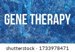 gene therapy theme with... | Shutterstock . vector #1733978471