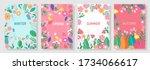 illustration set season element ...   Shutterstock .eps vector #1734066617