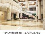 modern lobby   Shutterstock . vector #173408789