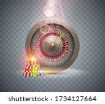 vector illustration gambling...   Shutterstock .eps vector #1734127664