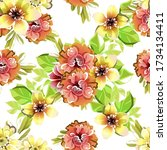 abstract elegance seamless...   Shutterstock . vector #1734134411
