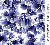 abstract elegance seamless...   Shutterstock . vector #1734134441