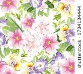 abstract elegance seamless...   Shutterstock . vector #1734134444