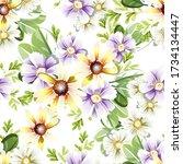 abstract elegance seamless...   Shutterstock . vector #1734134447