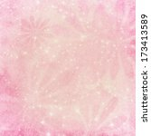 pink floral textured lights... | Shutterstock . vector #173413589